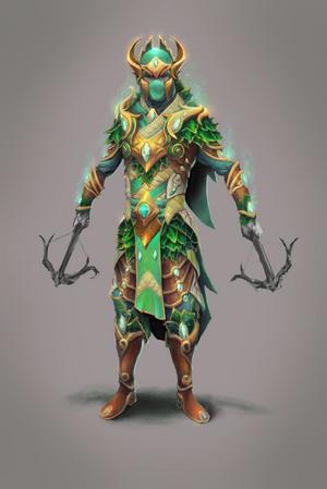 Cadarn ranged warrior concept art