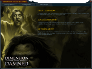 Dimension of the Damned (Scoring Points) interface