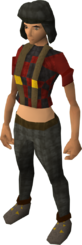 Lumberjack clothing female equipped