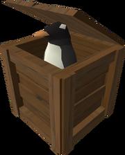 Penguin crate