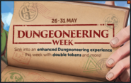 RS Roadtrip Dungeoneering week popup