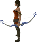 Saradomin bow equipped