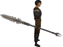 Sunspear (ranged) equipped