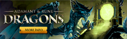 Adamant and Rune Dragons lobby banner