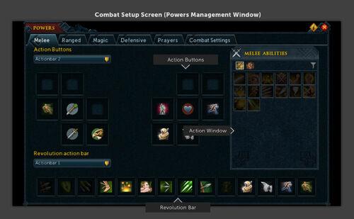 Combat setup screen news image