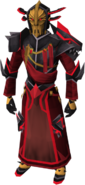 Dulcin armour equipped