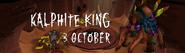 Kalphite King 3 October 2015