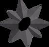 Medium dark star detail