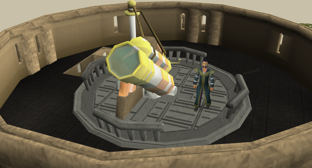 Observatory quest runescape wiki fandom powered by wikia