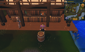 Simple clue Taverley mill barrel