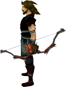 Strykebow equipped