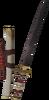 Tetsu katana detail