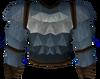 Werewolf torso (dark grey, female) detail