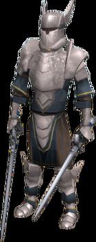 White Knight (Invasion of Falador) (male) (dual)