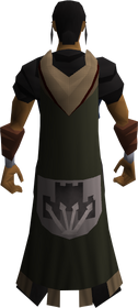 Castle wars enthusiast cape equipped