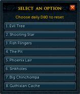 D&D token (daily) options