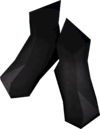 Elf-style boots (black) detail