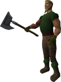 Lumberjack Leif