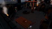 Black Knights' Fortress kitchen