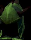 Blessed dragonhide coif (Guthix) detail