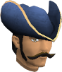 Colonist's hat (blue) chathead