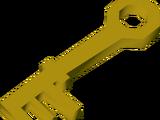 Grimy key