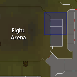 Justin Servil (during Fight Arena) location