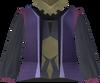 Dervish robe (violet) detail