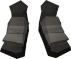 Iron boots detail