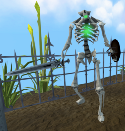 Skeleton (Temple Trekking, level 18)