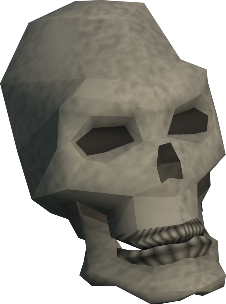 Skull of Remembrance detail