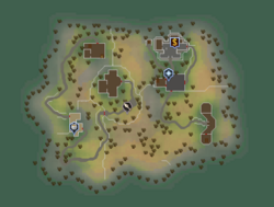 Tutorial Island (Beneath Cursed Tides) map