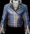 Tuxedo jacket detail