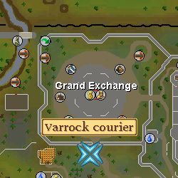 Varrock Courier Location
