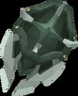 Adamant berserker shield detail