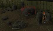 Blood altar ingang