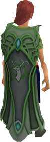 Clan Cadarn cape equipped