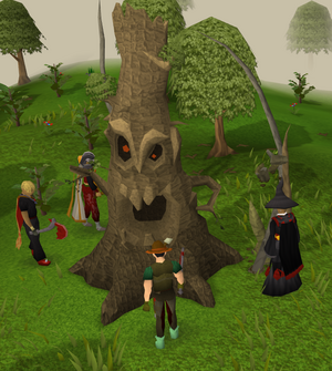 Evil tree normaal