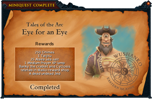 Eye for an Eye reward