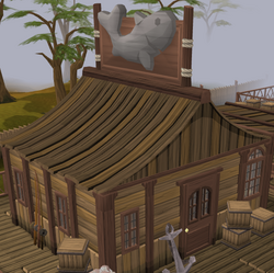 Fishing Guild Shop exterior