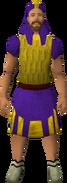 Menaphite clothing (purple, action kilt) equipped