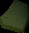 Plaster fragment detail