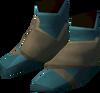 Sorcerer's boots detail