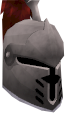 Steel heraldic helm (Kandarin) chathead