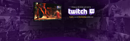Twitch Integration head banner