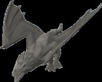 Basic dragon statue