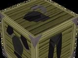 Black trimmed armour set (lg)