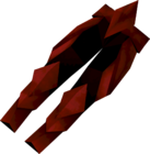 Dragon platelegs detail