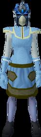 Full slayer helmet (f) (blue) equipped