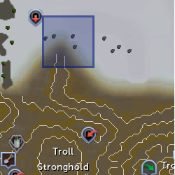 Ice troll (NPC) location